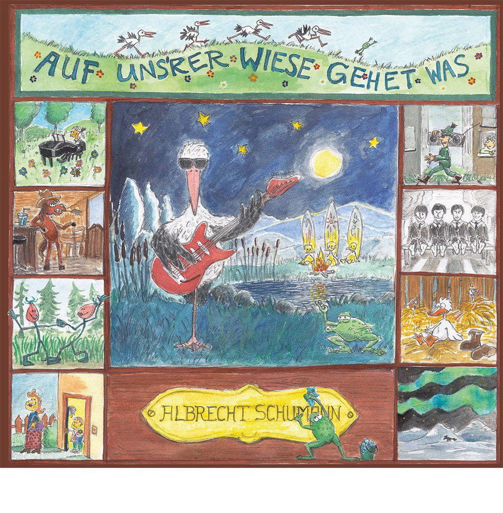 Albrecht Schumann: Auf unsrer Wiese gehet was, 2017